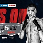 February 20: Gabriel Flores Jr. vs. Jayson Velez Tabbed as Miguel Berchelt-Oscar Valdez Co-Feature LIVE on ESPN