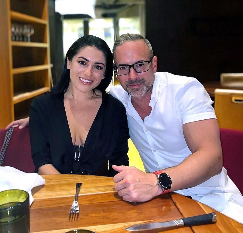 Giovanna Paolella and her boyfriend Brad Hayslip