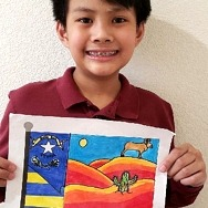 Gov. Sisolak Congratulates Winner of Travel Nevada Kids' Flag Contest