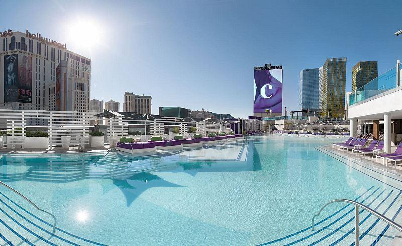 The Cosmopolitan of Las Vegas Unveils Unique Rooftop Pool Experiences With The Opening Of The Pool District