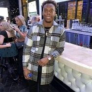 NFL Star and TV Personality Brandon Marshall Spotted at Blume Kitchen & Cocktails