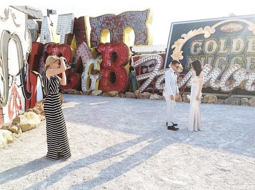 The Neon Museum Offering a Special Valentines' Portrait Hour, February 11