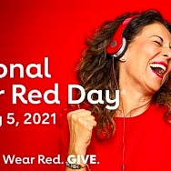 Kick off American Heart Month by Celebrating National Wear Red Day With the American Heart Association