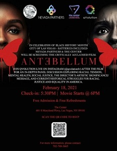 'Antebellum' Screens Tomorrow at The Center during Black History Month