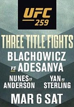 UFC 259 Headlined by 3 Thrilling World Championship Bouts
