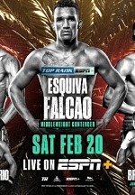 Esquiva Falcao & Elvis Rodriguez to be Featured on Berchelt-Valdez Undercard Feb. 20