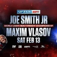 Smith-Vlasov to Headline Feb. 13 Bill from Las Vegas LIVE on ESPN