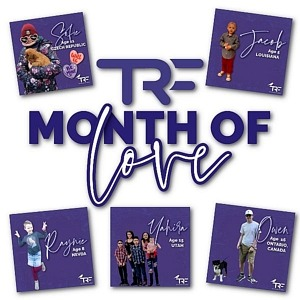 Celebrate the Month of Love With Special Dedicated Donations for Tyler Robinson Foundation