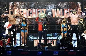 Weigh-In Results: Miguel Berchelt vs. Oscar Valdez & Gabriel Flores Jr. vs. Jayson Velez