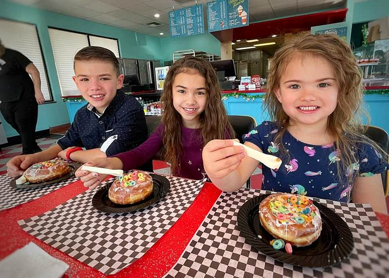 National Cereal Day and Cereal in a Donut at Wicked Donuts March 7