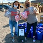 "Non-Profit Project Marilyn Distributes Hygiene Products at Several ""Pop Up and Give"" Locations in the Community"