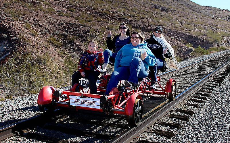 Rail Explorers Offers Tours Seven Days A Week Beginning April 1