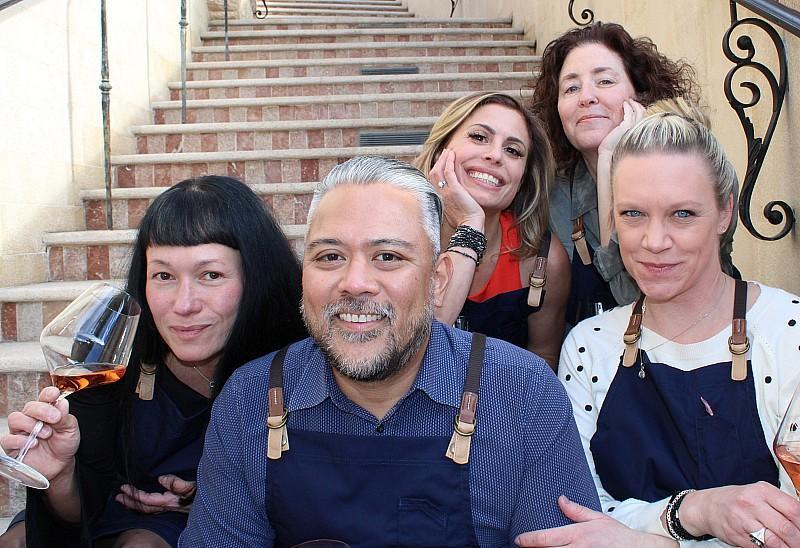 Ada's Wine Team:  Chloe, Norman, Kat, Jodie and Sarah