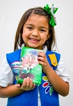 Girl Scouts Selling Cookies at in-Person Booths at Local Walmart and Sam's Club Locations