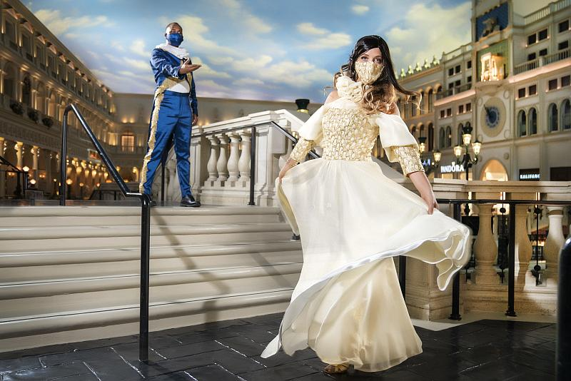 Grand Canal Shoppes at The Venetian Resort Las Vegas Welcomes a Phased Return of Its Famed Streetmosphere Entertainment