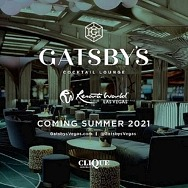 Gatsby's Cocktail Lounge to Open at Resorts World Las Vegas