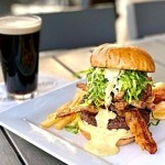 Go Mad for The Guinness Burger all March long at Distill and Remedy's