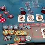 Caesars Rewards Member Hits Mega Progressive Jackpot on Ultimate Texas Hold 'Em for $115,693 at The LINQ Hotel + Experience