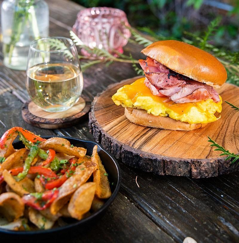 Park on Fremont Egg Sandwich
