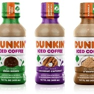 Dunkin' Launches Bottled Iced Coffee in Girl Scout Cookie Flavors