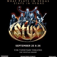 Styx to Return to the Venetian Resort Las Vegas September 25 & 26, 2021