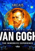 "Global Sensation, ""Van Gogh: The Immersive Experience,"" a Digital and Virtual Reality Exhibition, Coming April 6 to the Portal at AREA15"
