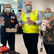 Dunkin' Las Vegas Shows its Appreciation to Local RTC Employees on Transit Worker Appreciation Day