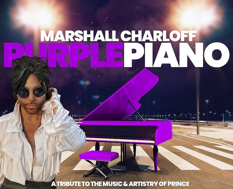 """""""The Purple Piano"""" Celebrates The Music And Artistry Of Prince In New One-Man Vegas Show"""
