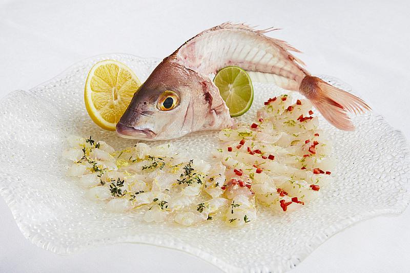Whole Fish Sashimi - Credit: Tim Atkins