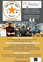 Tonight (April 13): Youth Pop Up Kitchen at D'Agostino's Trattoria with Chef Jeff Project