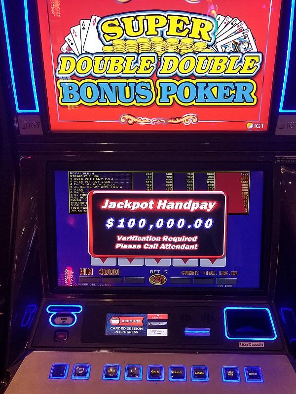 Lucky Local Scores $100k at Rampart Casino