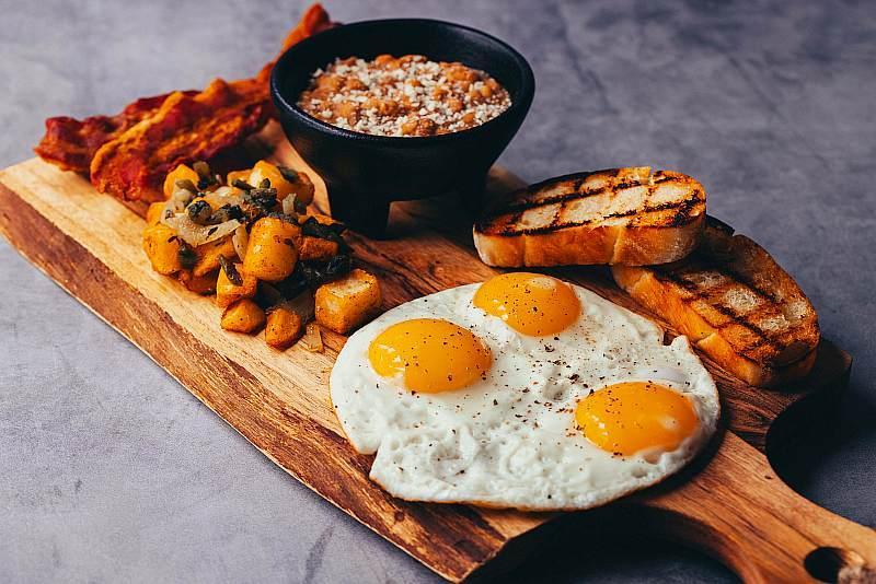 Calavera Breakfast Platter - Brunch - Photo credit: Joe Janet