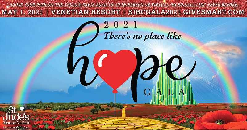 """St. Jude's Ranch for Children's """"There's No Place Like Hope"""" Micro-Gala to Benefit Child Victims of Sex Trafficking"""