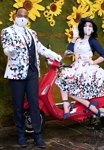 Grand Canal Shoppes at The Venetian Celebrates Vespa's 75th Anniversary with the Return of Their Authentic Red Vespa, Vespa Love Couple and Exclusive Giveaways for Guests