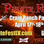 Pirate Fest Returns to Craig Ranch Park, April 17 & April 18