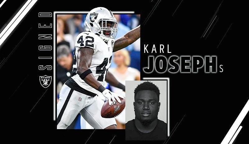 Raiders Sign S Karl Joseph