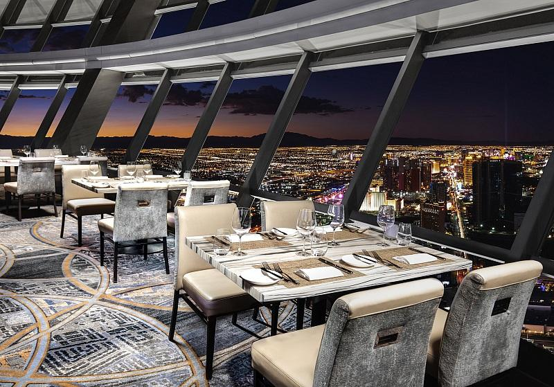 Top of the World at The STRAT Hotel, Casino & SkyPod to Celebrate Mother's Day with Menu Fit for a Queen