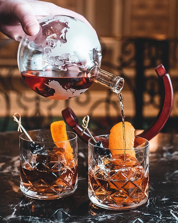 Worldly Old Fashioned Bellagio's Petrossian Bar
