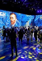 """""""Van Gogh: The Immersive Experience,"""" a 360-degree Digital, VR Exhibition at AREA15"""