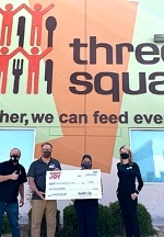 """Dunkin' Joy in Childhood Foundation Celebrates """"Week of Joy"""" with $1,000 Donation to Three Square Food Bank"""