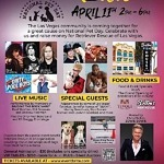 """Las Vegas Rockin' for Dogs"" on National Pet Day, April 11"