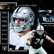 Raiders Sign T Kolton Miller to Multi-Year Extension