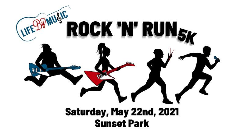 Rock Out and Run for a Cause at the First-Ever Rock 'N' Run 5k Hosted By Life by Music May 22