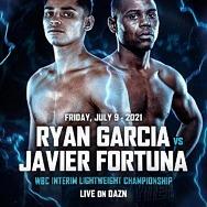 Ryan Garcia to Defend Interim WBC Lightweight Title Against Javier 'El Abejon' Fortuna July 9 on DAZN