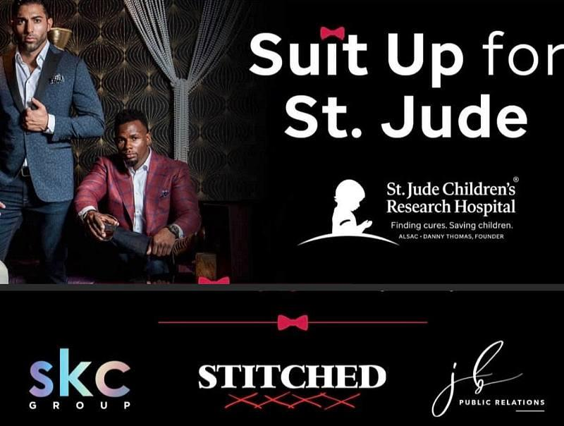 STITCHED presents: Suit Up for St. Jude.