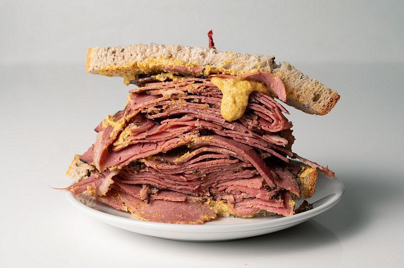 Siegel's Bagelmania sandwich - Photo by Angie Ortaliza