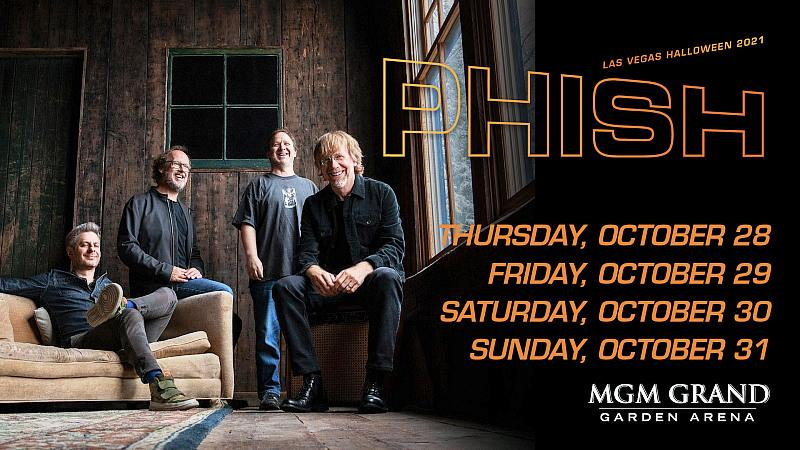Phish Announces Combined Summer & Fall 2021 Tour with Newly Announced Shows Alongside Rescheduled 2020 Dates