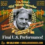 Delbert McClinton to Make His Final U.S. Performance at Big Blues Bender September 9–12, 2021 at Westgate Las Vegas Resort & Casino