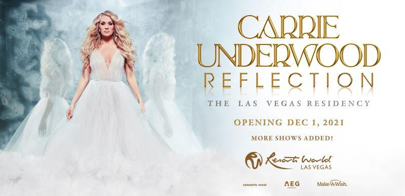 Due to Incredible Ticket Demand, Carrie Underwood Adds Six Show Dates to Reflection: The Las Vegas Residency Opening December 1 at The Theatre at Resorts World Las Vegas