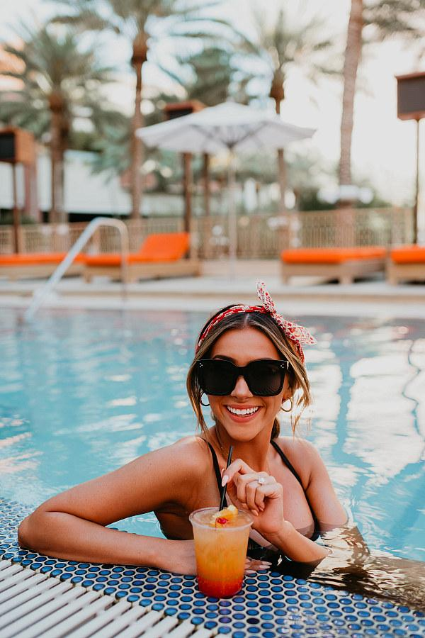 Red Rock Casino will reopen their adult (21+) pool Crimson just in time for the long holiday